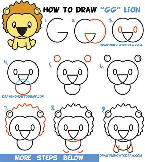 step  step lion drawings art gallery