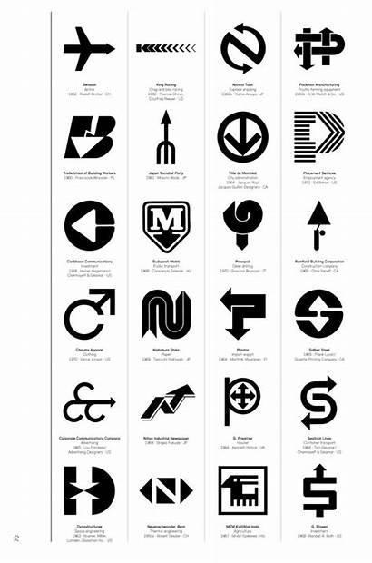 Corporate Modernism Graphic Logos Modernist 1980 Brilliant