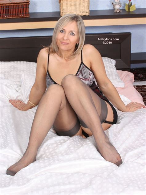 Ala Nylon From Poland Sexy Polish Milf In Bedroom Fetish Porn Pic