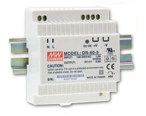 DR-60-24 - Mean Well - DR6024 - datasheet