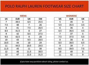 Ralph Men Shoes 10 Polo Ralph Shoes Size Chart