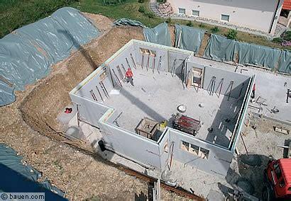 Kellerbau Aus Stein Oder Beton by Keller Mauern Oder Betonieren Die Letzten Vorbereitungen