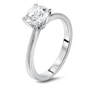 1 24 carat solitaire diamond ring diamondland