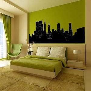 Schlafzimmer In Grün Gestalten : schlafzimmerwand gestalten kreative dekoideen ~ Sanjose-hotels-ca.com Haus und Dekorationen