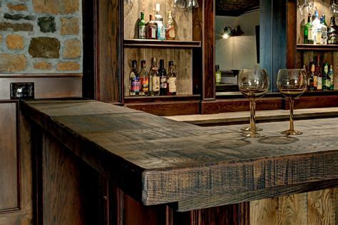 sports bar basement rustic with traditional wine glasses