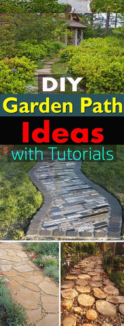 Garden Tutorial by 19 Diy Garden Path Ideas With Tutorials Balcony Garden Web