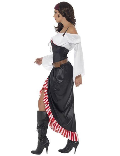Kostume Miss Sexy Dødningehoved Pirat Til Kvinder Køb