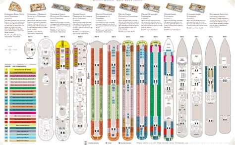Disney Deck Plan 5 by Disney Cruise Ship Details On The Disney