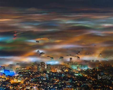 bulgaria fog  sofia  bing desktop wallpaper