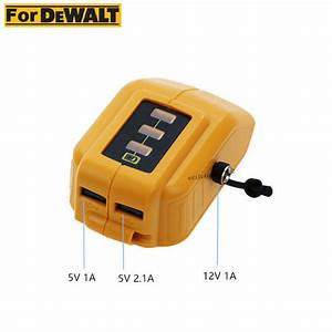 New Battery Usb Charger For Dewalt 12v  20v Max Heated Work
