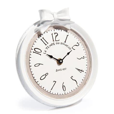 reveil maison du monde horloge en r 233 sine blanche d 17 cm doriane maisons du monde