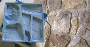 Faire Un Moule Pour Béton : moules pour plaquette de parement ~ Melissatoandfro.com Idées de Décoration