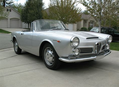 Classic Alfa Romeo For Sale by 1964 Alfa Romeo 2600 Spider Classic Italian Cars For Sale