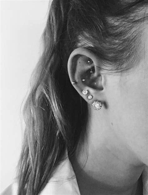 snug ear piercing rook ear piercing triple piercing