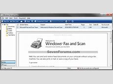 Windows Fax and Scan Shortcut Create Windows 7 Help Forums