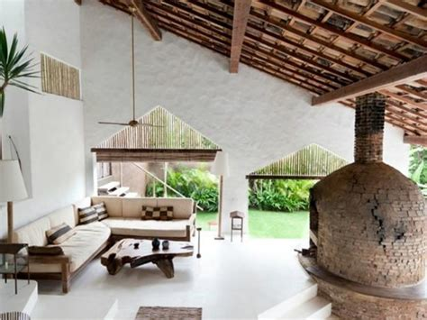ethnic interior design  decor ideas blending natural