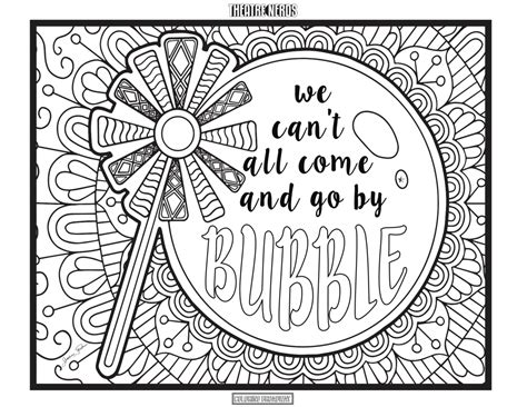 Wicked Coloring Pages (4pck)