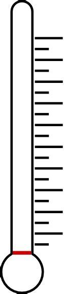 blank fundraising thermometer clip art  clkercom