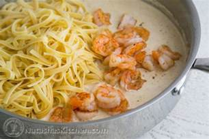 Pasta Alfredo with Shrimp Recipes