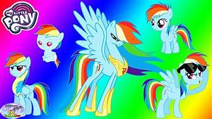My Little Pony Transforms Rainbow Dash From Baby To