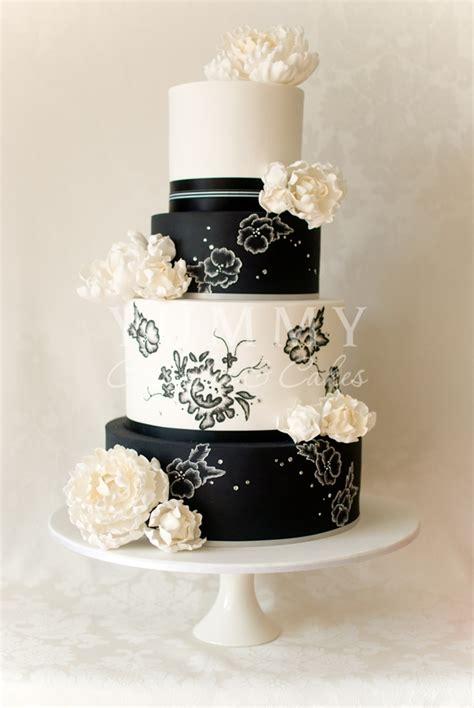 white wedding cakes wedding cakes black and white
