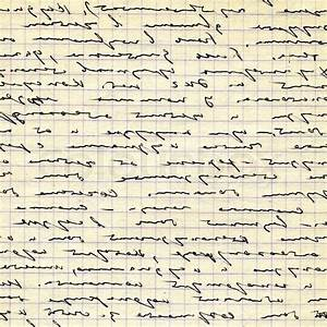 Text On Old Sheet Of Paper