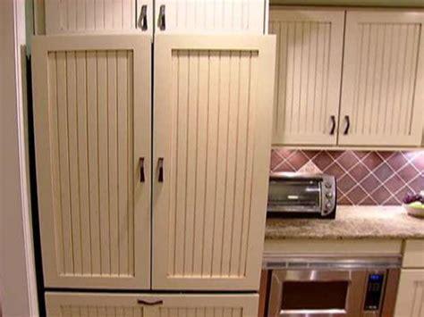 installing refrigerator panels video diy