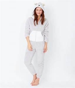 Combinaison Pyjama Homme Polaire : combinaison pyjama animaux ~ Mglfilm.com Idées de Décoration