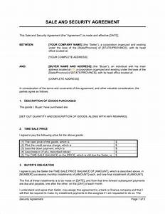 security agreement covering consumer goods template With security contracts templates