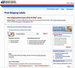 how to print mailing labels and postage online With create usps shipping label online