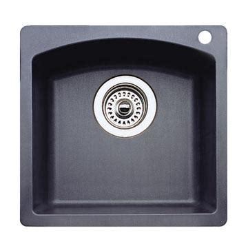 Blanco 440204 Diamond Silgranit II Bar Sink Dual Mount