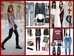 Back to School Outfits Ideas 2017 - Fashion Girls LookBook - YouTube