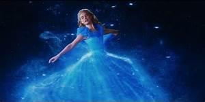 'Cinderella' Star Lily James Comments On Waist Controversy ...  Cinderella