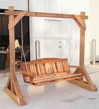free standing swing free standing pergola swing | Free Standing Frames - $325.00 Free Standing Frames With Roof ...