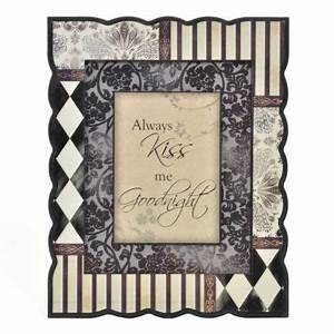 always kiss me goodnight wall art home gidgets gadgets With kitchen cabinets lowes with always kiss me goodnight framed wall art