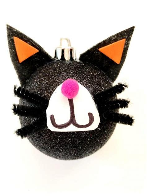 halloween tree  complete  diy black cat ornaments