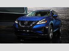 2019 Nissan Murano wears a new face at the LA Auto Show