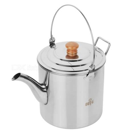 kettle camping tea camp stainless pot teapot steel coffee outdoor hiking 2l 3l