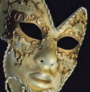 Full Face Venetian Masquerade Mask