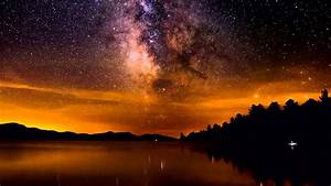 Timelapse Of The Milky Way From Indian Lake In The