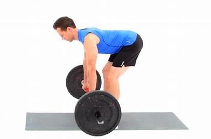 Barbell Exercises Bar Row Rows Bent Vs