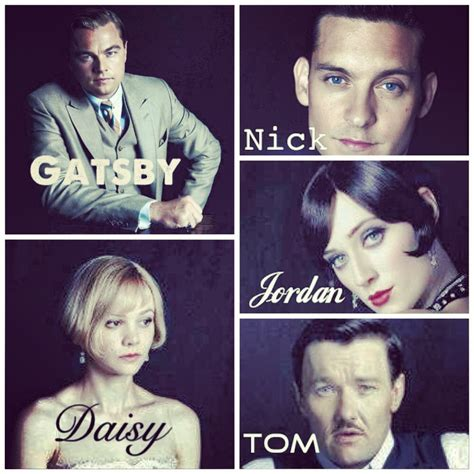 the great gatsby character quotes gatsby character quotes quotesgram
