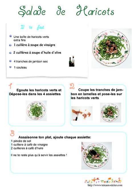 imprimer la recette de la salade de haricots verts