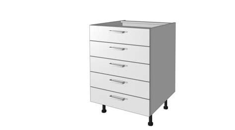 tiroir meuble cuisine meubles bas 5 tiroirs meuble bas de cuisine pas chère