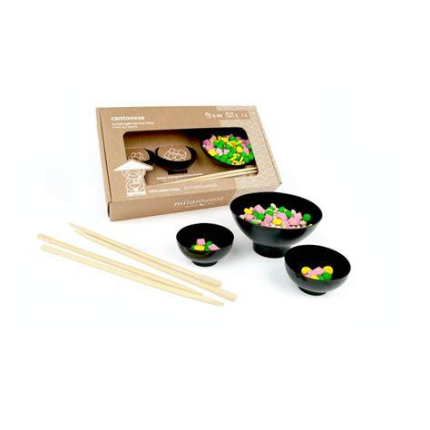 jeu fr de cuisine jeu de rapidité en bois cantonese multicolore milaniwood jouet
