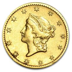 Liberty 1 Dollar Gold Coin Value