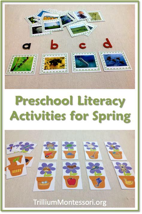 literacy activities for preschoolers trillium literacy activities for preschoolers montessori network mbn preschool