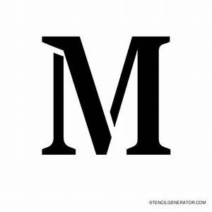 Stardos alphabet stencils by new typography stencil for Letter stencil maker
