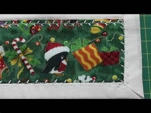 Unsichtbaren Saum Nähen : tischdecke tischl ufer f r weihnachten saum n hen youtube ~ Yasmunasinghe.com Haus und Dekorationen