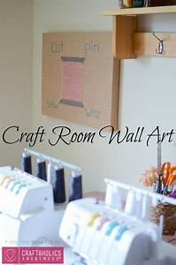 Craftaholics Anonymous Craft Room Wall Art